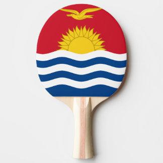 Raquette Tennis De Table Drapeau du Kiribati