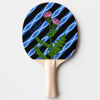 Raquette Tennis De Table Drapeau écossais de rayures