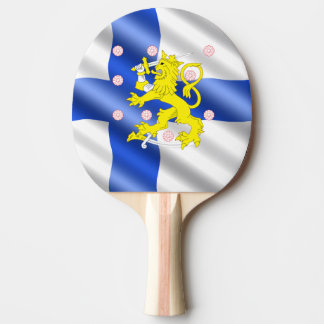 Raquette Tennis De Table Drapeau finlandais