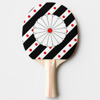 Raquette Tennis De Table Drapeau japonais de rayures