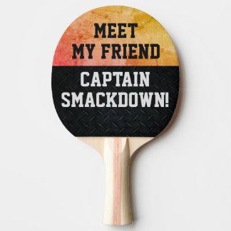 Raquette Tennis De Table Drôle claquez la palette de ping-pong d'entretien