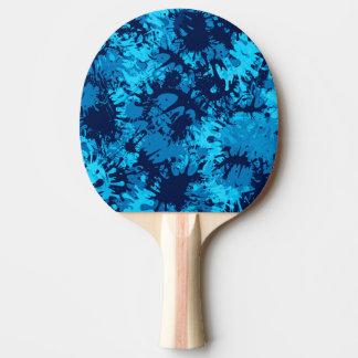 Raquette Tennis De Table Éclaboussure bleue de peinture