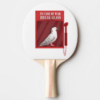 Raquette Tennis De Table En cas de verre de coupure de guerre