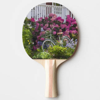 Raquette Tennis De Table Fleur spectaculaire de ressort, antiquité