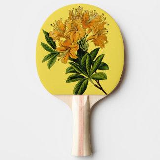 Raquette Tennis De Table fleurs