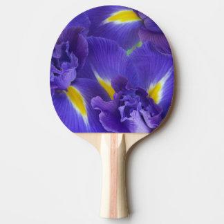 Raquette Tennis De Table Fleurs d'iris
