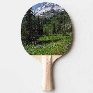 Raquette Tennis De Table Fleurs sauvages chez le mont Rainier