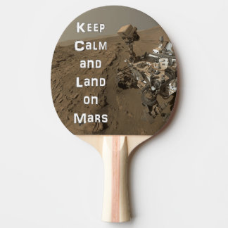 Raquette Tennis De Table Gardez la palette calme de ping-pong de Mars Rover