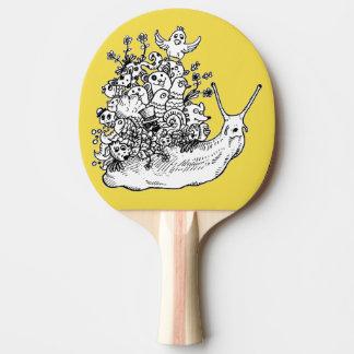 Raquette Tennis De Table Griffonnage #1