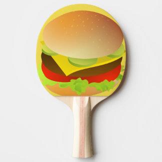 Raquette Tennis De Table hamburger de fromage