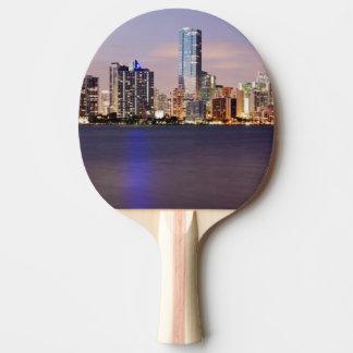 Raquette Tennis De Table Horizon des Etats-Unis, la Floride, Miami au