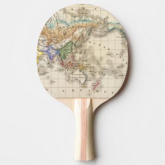 Raquette Tennis De Table Humain primitif de du genre de distribution
