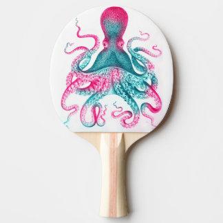 Raquette Tennis De Table Illustration de poulpe - cru - kraken