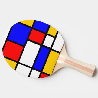 Raquette Tennis De Table Inspiration Mondrian