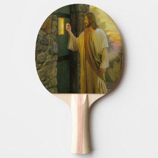 Raquette Tennis De Table Jésus à votre cru de porte