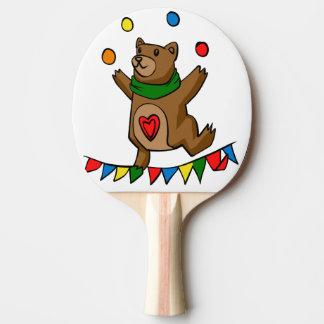 Raquette Tennis De Table Jonglerie d'ours