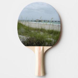 Raquette Tennis De Table Jour violent à la plage