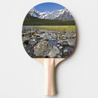 Raquette Tennis De Table Le Canada, Alberta, montagnes rocheuses,