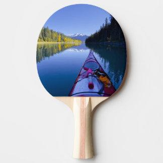Raquette Tennis De Table Le Canada, Colombie-Britannique, lacs Bowron