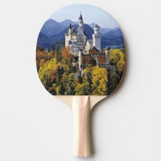 Raquette Tennis De Table Le Neuschwanstein de fantaisie est l'un de trois