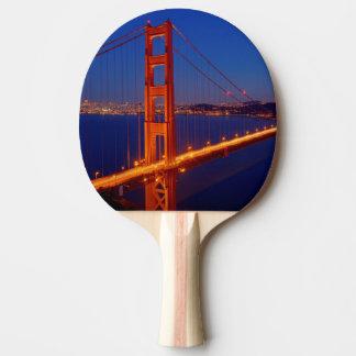 Raquette Tennis De Table Le pont iconique avec San Francisco