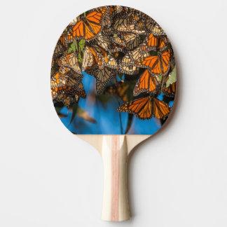 Raquette Tennis De Table Les papillons de monarque de migration