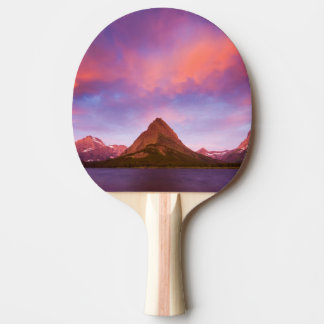 Raquette Tennis De Table Lever de soleil au glacier