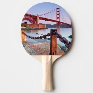 Raquette Tennis De Table Lever de soleil au point de fort