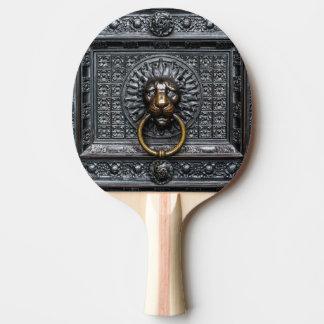 Raquette Tennis De Table Lion de heurtoir - noir/or