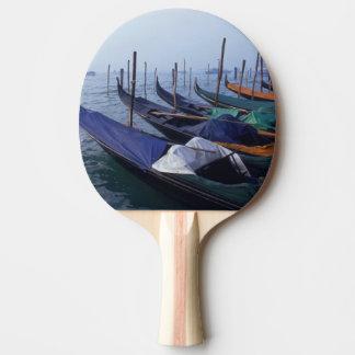 Raquette Tennis De Table L'Italie, Venise. Gondoles