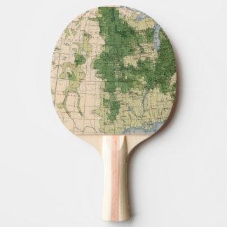 Raquette Tennis De Table Mille de 156 Wheat/sq