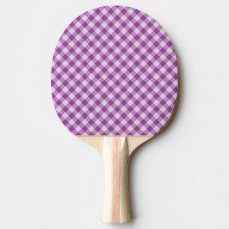 Raquette Tennis De Table motif coloré géométrique de coton