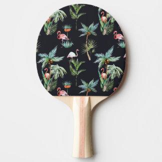 Raquette Tennis De Table Motif de paume d'aquarelle