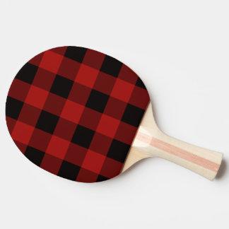 Raquette Tennis De Table Motif de plaid