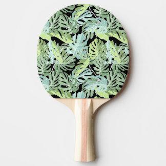 Raquette Tennis De Table Motif floral de jungle