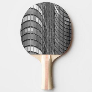 Raquette Tennis De Table Mur rideau en acier et en verre de moderne