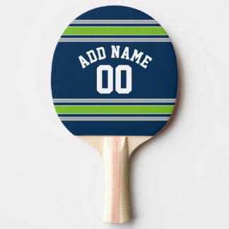 Raquette Tennis De Table Nombre nommé fait sur commande du Jersey de sports