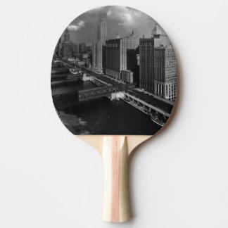 Raquette Tennis De Table Novembre 1939 :  La ville de Chicago