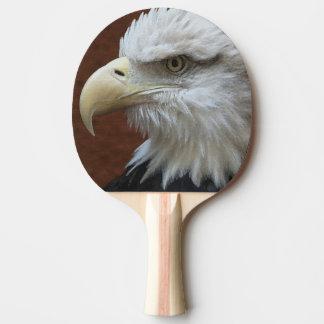 Raquette Tennis De Table Oiseau d'Eagle d'Américain et palette de drapeau