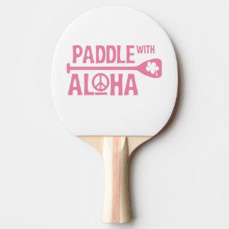 Raquette Tennis De Table Palette avec Aloha - palette de puanteur de