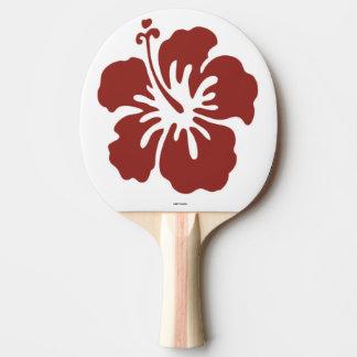 Raquette Tennis De Table Palette de ping-pong de fleur de ketmie