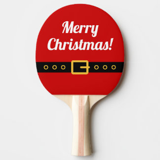 Raquette Tennis De Table Palette de ping-pong de Joyeux Noël pour le