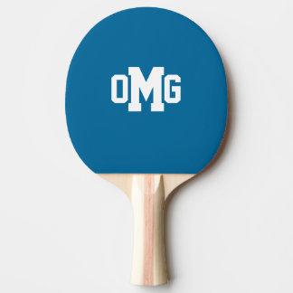 Raquette Tennis De Table Palette de ping-pong de monogramme de sport