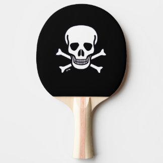 Raquette Tennis De Table Palette de ping-pong de noir animal du crâne n