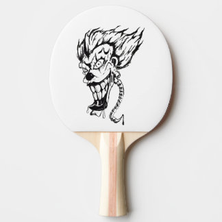 Raquette Tennis De Table Palette mauvaise de ping-pong de clown