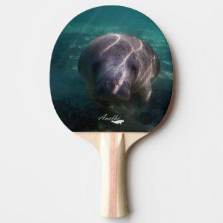 Raquette Tennis De Table Palette mignonne de ping-pong de lamantin de bébé