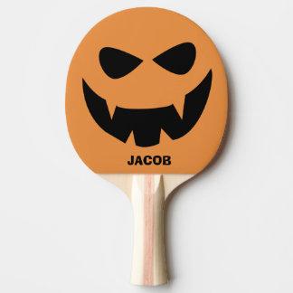 Raquette Tennis De Table Palette personnalisée de ping-pong de citrouille