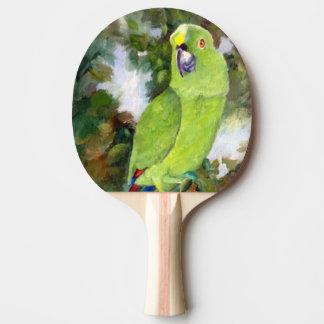Raquette Tennis De Table Perroquet jaune de Cydney Naped