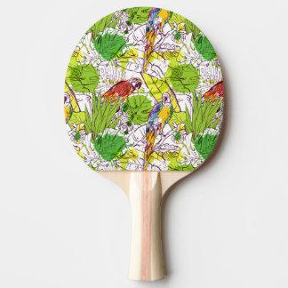 Raquette Tennis De Table Perroquets tropicaux
