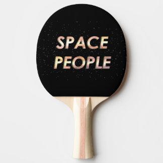Raquette Tennis De Table Personnes de l'espace - la palette de ping-pong !